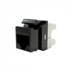 Conector Keystone, 1xRJ45 UTP cat.5e PowerCat, negru - Molex
