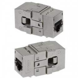 Conector Tool-less Keystone, 1xRJ45 STP cat.6A PowerCat - Molex