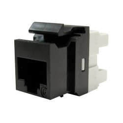 Conector Keystone, 1xRJ45 UTP cat.6 PowerCat, negru - Molex