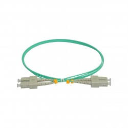 Patchcord FO SC/PC-SC/PC, MM OM3 50/125, manta LSZH 2.0mm, duplex 10m