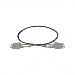 Patchcord FO SC/PC-SC/PC, MM OM4 50/125, manta LSZH 2.0mm, duplex 5m