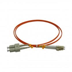 Patchcord FO SC/PC-LC/PC, MM OM2 50/125, manta LSZH 2.0mm, duplex 2m