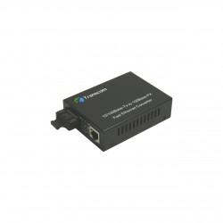 Mediaconvertor 10/100M 850nm Multimode 550m conector SC - TRANSCOM
