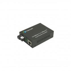 Mediaconvertor 10/100M 1550/1310nm WDM, Type B Singlemode 40km, conector SC - TRANSCOM