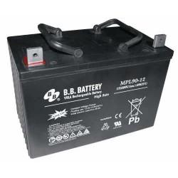 Acumulator stationar 12V 90Ah High Rate/Long Life BB