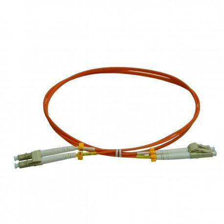 Patchcord FO LC/PC-LC/PC, MM OM2 50/125, manta LSZH 2.0mm, duplex 1m