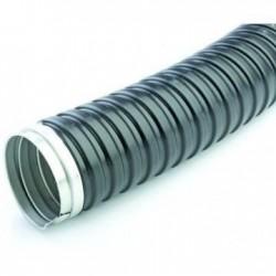 Tub gofrat metalic+izolatie 9 mm