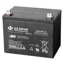 Acumulator stationar 12V 80Ah High Rate/Long Life BB