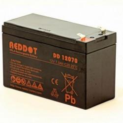 Acumulator stationar 12V 7Ah, F1/T1, Reddot