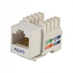 Keystone cat5e UTP , tool free - EMTEX