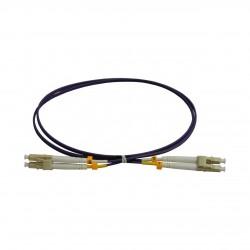 Patchcord FO LC/PC-LC/PC, MM OM4 50/125, manta LSZH 2.0mm, duplex 1m