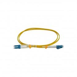 Patchcord FO LC/PC-LC/PC, SM OS2 9/125, manta LSZH 2.0mm, duplex 15m