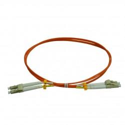 Patchcord FO LC/PC-LC/PC, MM OM2 50/125, manta LSZH 2.0mm, duplex 15m