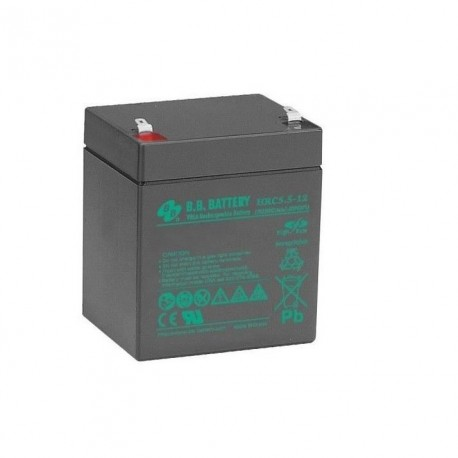 Acumulator stationar BB 12V 5.5Ah High Rate/UPS, F2/T2, HRC5.5-12