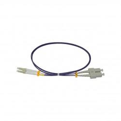 Patchcord FO SC/PC-LC/PC, MM OM4 50/125, manta LSZH 2.0mm, duplex 1m